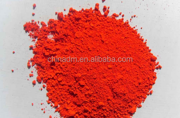 new Inorganic colour Pigment synthetic red iron oxide food additive from china supplier