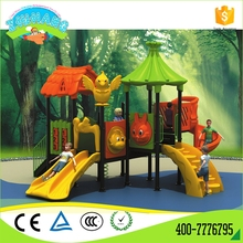 China professional high quality large outdoor plastic slide for sale