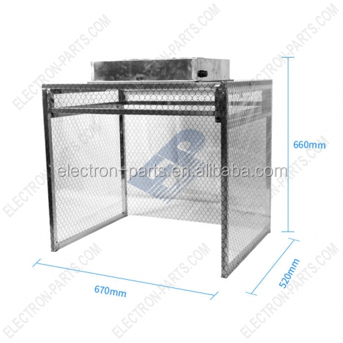 Dust Free Room laminar flow ,Clean Bench for Phone LCD & Touch Screen Repair 110v-220v Mini size Foldable