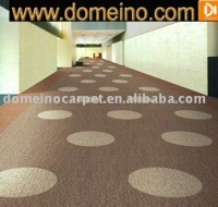 Carpet tile PVC nylon 6.6 commercial carpet