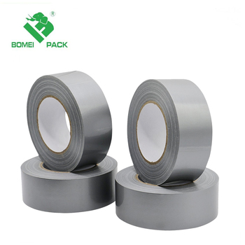 No Residue Nature Rubber Heavy Duty Strong Custom design cheap waterproof PE film duct tape for wholesale