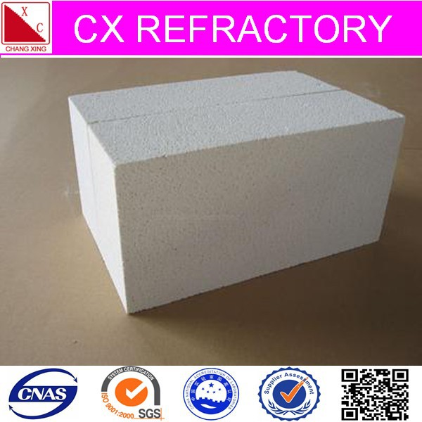 light weight brick white mullite insulating fire brick