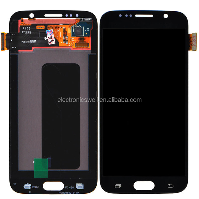 New Arrived 100% Original new LCD screen with digitizer touch panel, LCD assembly for Samsung galaxy S6 G9200