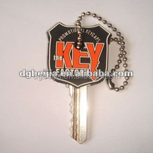PVC Key Cover with metal ring