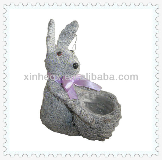 2013 decorative terracotta animal shape planters