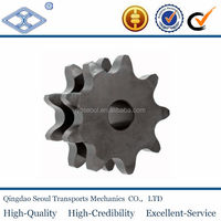 3/4''x7/16'' B series Ptich19.05 12B sprcification machinery forging standard stainless steel sprocket