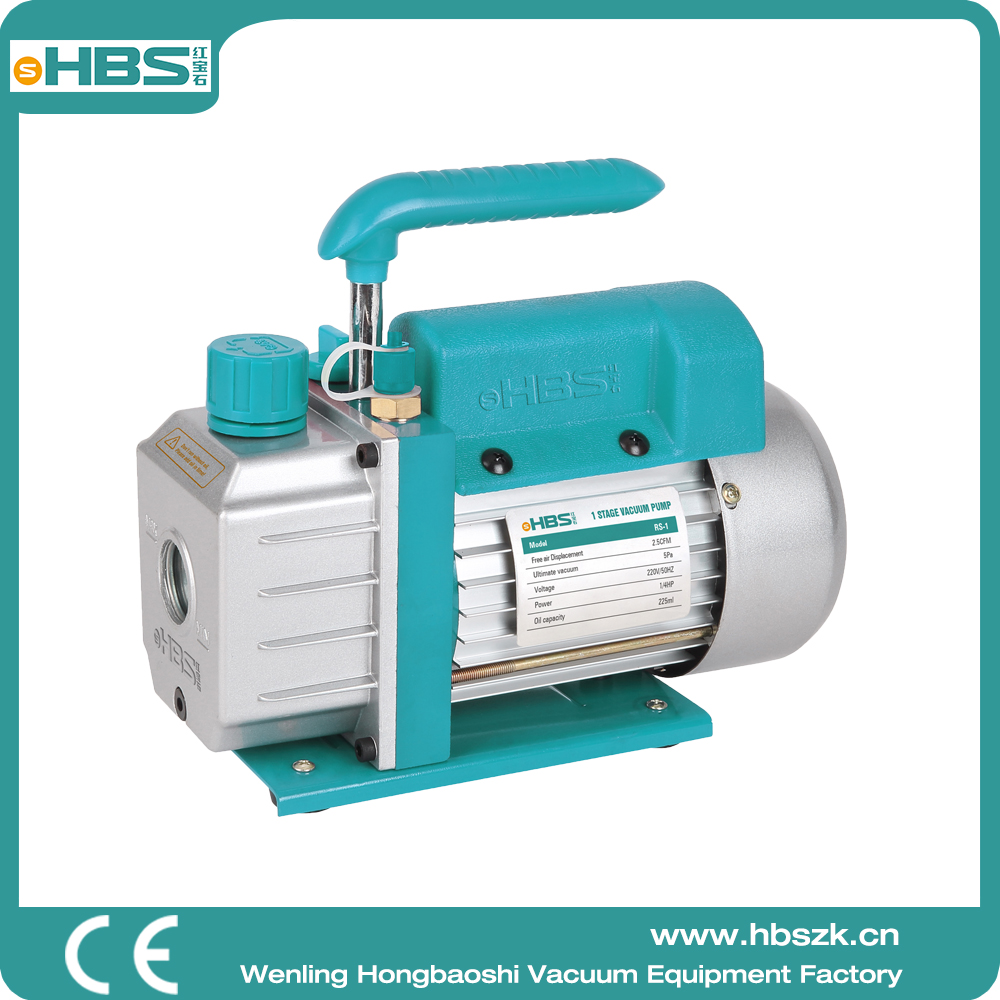 HBS China RS-1 single stage one stage small air vacuum pump portable