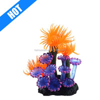 customized resin decorative fish tank aquarium coral artificial for sale