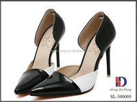 New fashion pointed toe ladies high heels dress shoes