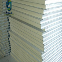 Color Steel Sheet Polyurethane PU Sandwich