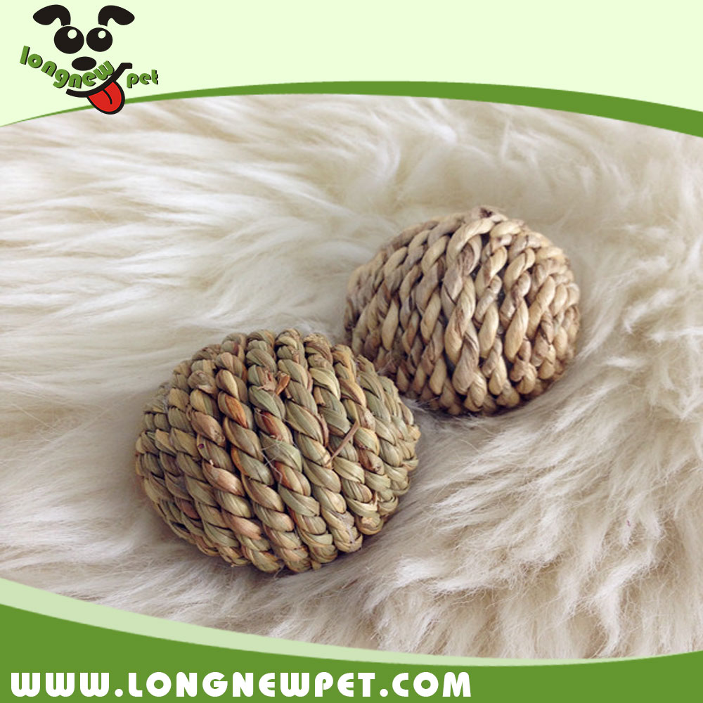 Best Small Dog Toy Pet Sisal Rope Balls Durable Dog Toys