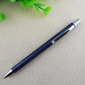 Promotional items china metal silver clips button ball pen