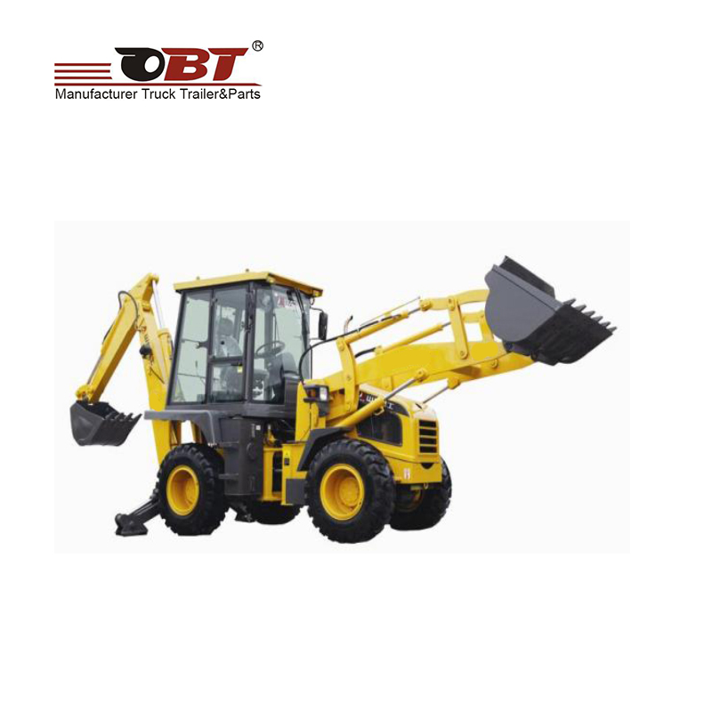 ISO certification OBT small Backhoe loader with cheap <strong>price</strong>
