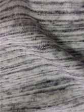 Silver thread weft knitting Cotton 40S Terry fabric for garment