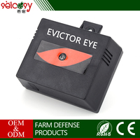 Power supply solar panel electronic insecticide for warehouses