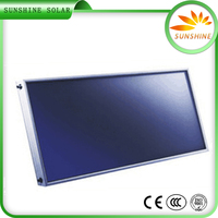 Hot Shower Solar Water Heater Flat Plate Solar Collector Flat Type Solar Collector