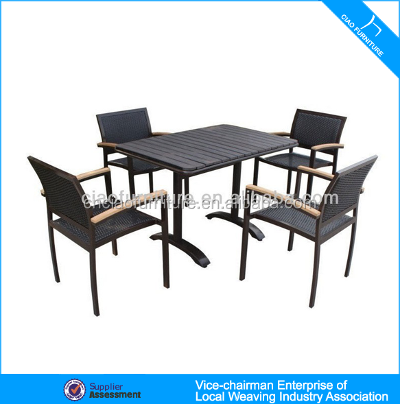 Rattan Chairs Wood Table Coffee Shop Table Furniture Buy Coffee Shop Table Furniture Wood