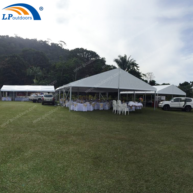 150 guests Aluminum Outdoor luxury marquee with lining decoration tent for wedding event