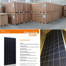 Free shipping Grade A Hanwha 305w-310w poly solar panel
