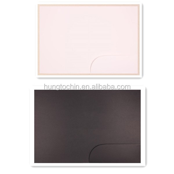2015 hot saling!Cool design promotion office kraft paper a4 size file folder