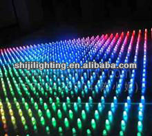 rgb led curtain wall lights for decoration