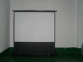 4:3 Portable floor up screen
