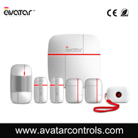 Professional 3g home security alarm system for wholesale