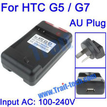 AU Plug Standard Universal USB Battery Charger for HTC Desire G7 / G5