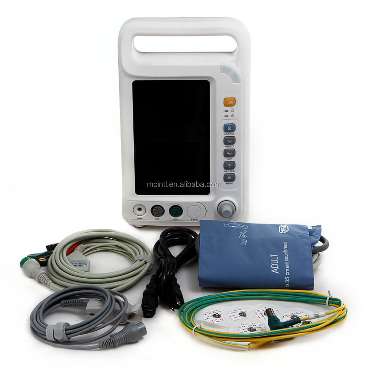 "MediCare 7"" Portable Multi Parameter Patient Monitor (CE Approved)"