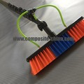 Carbon Fiber Telescopic Pole Brush Hose for Window Cleaning