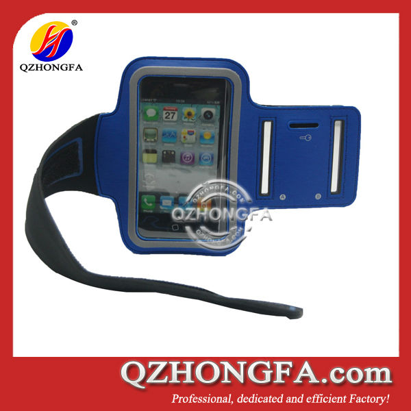 Neoprene Sport Armband Case for iPhone 4 4s 5