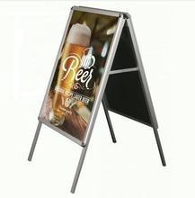 portable folding display stand aluminum advertising a board for display