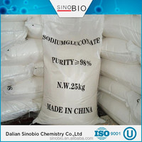 Steel surface cleaning agent sodium gluconate CAS:527-07-1