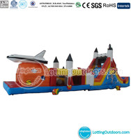 Inflatable Missile Base Obstacle Course/Outdoor Inflatable Playground