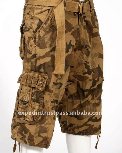 Camo Khaki Shorts