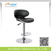 Acrofine Butterfly Black Leather Bar Chair