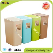 PP Colorful High Quality Colored garbage can recycle bin