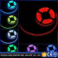 3D holiday decoration highlight waterproof rechargeable battery led strip light