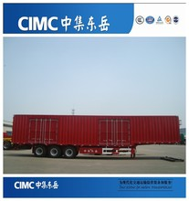 CIMC China Van Coursed Wagon Semi Trailer Manufacturer