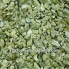 garden landscaping green crushed marble stone