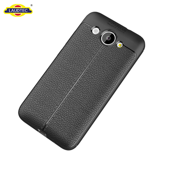 New Design Phone Case For Huawei Y3, Lichi Skin Silicone Case For Huawei Y3 TPU Cover