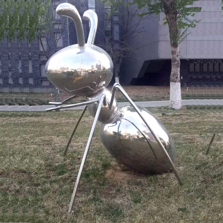Metal art Giant Ant Sculpture for outside Park decoration WY-SS4
