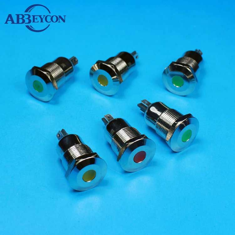 LED Pilot lamp AC DC 6V 12V 24V 48V 110V 220V 380V 22mm AD16-22DS AD22-22DS Signal Indication Indicator Lamp