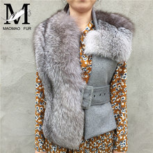Nice Quality Fashionable Top Selling Real Fox Fur Vests Ladies Vest Tops