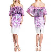 2017 Trendy Floral Off The Shoulder Dress Sexy Women Bodycon Party Dresses