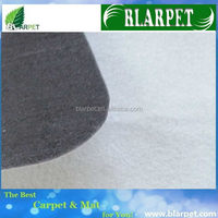 Top quality branded needle punched non woven speaker carpet
