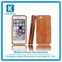 [kayoh] For iphone 6 phone case wood , Case Bamboo for iphone 6s Wooden Cover Mobiles