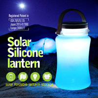 SORBO HIgh Lumen Outdoor LED Solar Light with Water Bottle Emergency Hanging Solar Bottle Light China Supplier