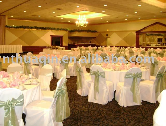 Banquet chair covers & Satin sash