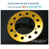 Wholesale custom electric go kart 219 aluminum chain sprocket
